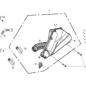 F14-Kutija zraka / filter