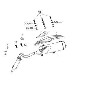 F15-Ispušni sistem