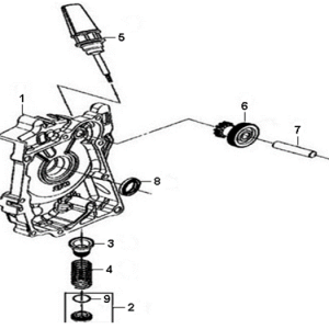 E06-Poklopac motora desni