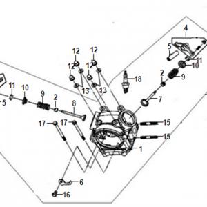 E02-Glava cilindra