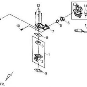 E10-Karburator/usisna grana