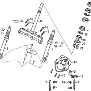 F06-Prednja vilica/blatobran