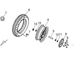 F10-Prednji kotač
