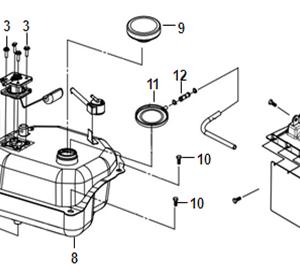 F11-Rezervoar goriva