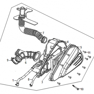 F13-Kutija zraka/filter