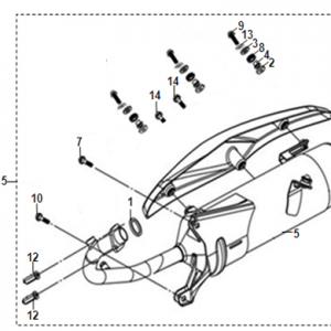 F14-Ispušni sistem