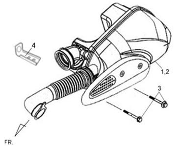 F15-Kutija zraka/filter