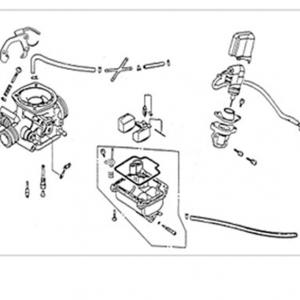 E14-Karburator/usisna grana