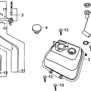 F13-Rezervoar goriva