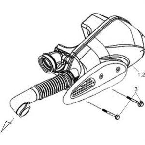 F15-Kutija zraka / filter